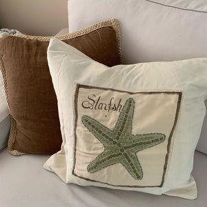 Pottery Barn Coastal Pillow Cover